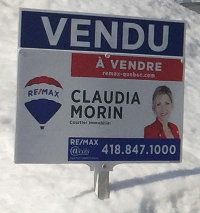 Claudia Morin maison vendue