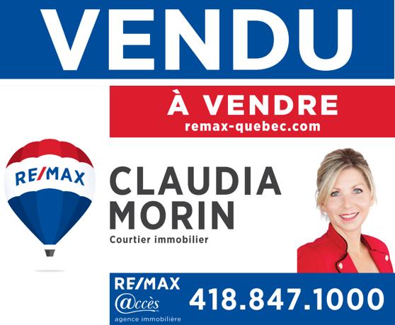 Vendu Des Patriotes, L'Ancienne-Lorette Claudia Morin Remax